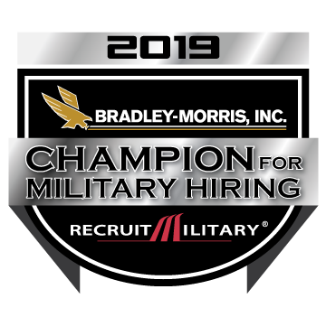 BMI RM Champion for Military Hiriing Badge