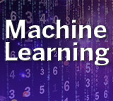 Machine Learning graphic made with text